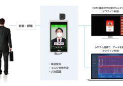 明日5日より、東京・千葉・神奈川・埼玉の23劇場が営業再開となるTOHOシネマズでも、新型コロナウイルス感染症の拡大防止対策の一環としてAI検温ソリューション「SenseThunder-Mini(センス・サンダー・ミニ)」が導入されます。